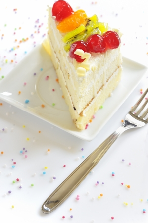 piece of delicious cake Stock Photo - 20777355