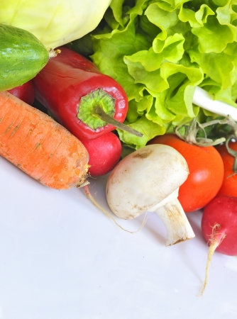 Fresh vegetables Stock Photo - 16567239