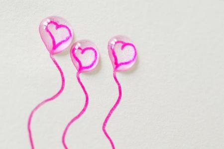 balloons of love Stock Photo - 16567285