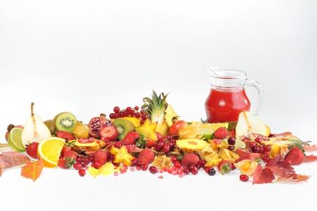 fresh various fruits Stock Photo - 16567509