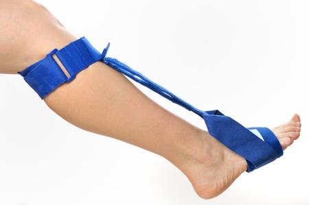 Fußstemmbügel Standard-Bild