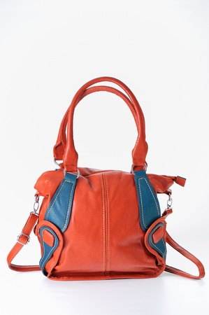 red ladies handbag Stock Photo - 16822756