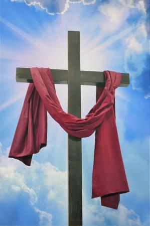 cross against the sky Stock Photo - 16822688