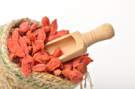 Red dried goji Stock Photo - 20777383