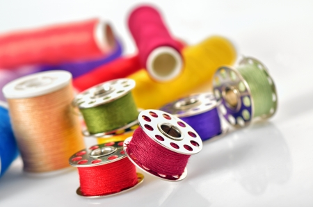 Sewing accessories Stock Photo - 17456906