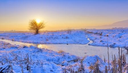 winter landscape Stock Photo - 17456912