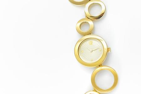 Luxury gold wristwatch Stock Photo - 17748259