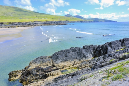 Dunquin bay in Ireland Stock Photo - 17771075