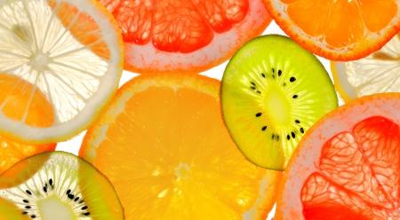 sliced fruits Stock Photo - 17931847