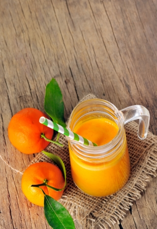 clementine juice Stock Photo - 17931856