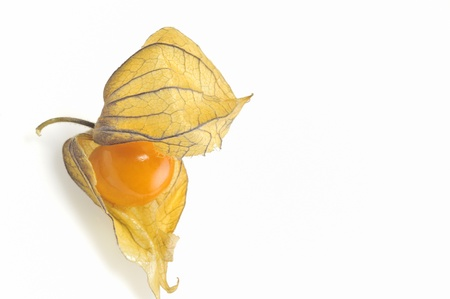 variation: phisalis small yellow fruit Stock Photo