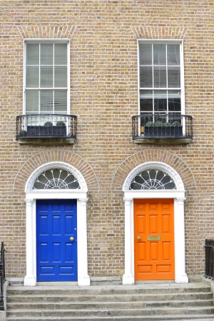 Georgian doors in Dublin Stock Photo - 18160211
