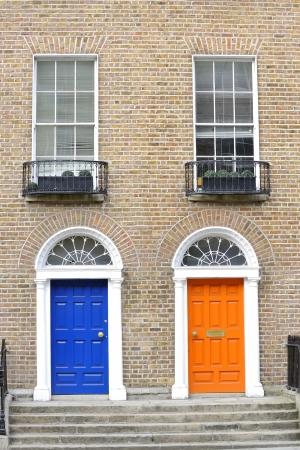 fanlight: Georgian doors in Dublin