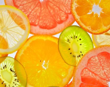 sliced fruits Stock Photo - 18688803