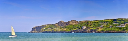 irish coast landscape in summer time Stock Photo - 21452034