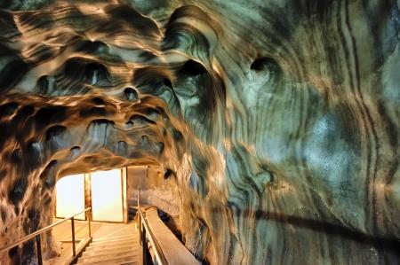 saltmine: Inside of salt mine shoot on corridor