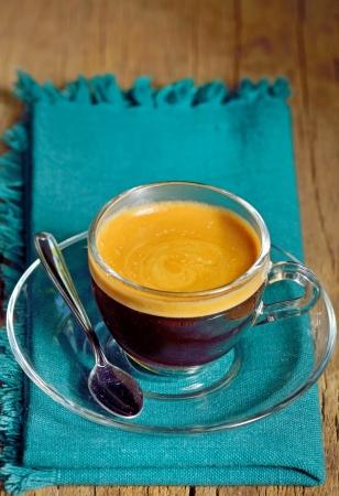 Cup of espresso shoot in studio Stock Photo - 23216428