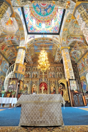 details and icons inside of orthodox church Stock Photo - 23190139