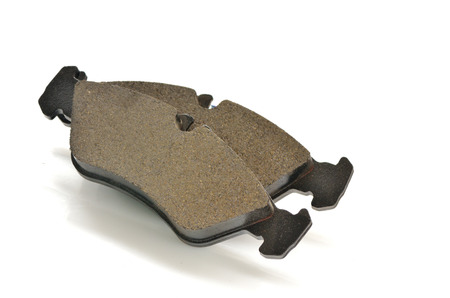 Car brake pads shoot in studio Stock Photo - 23812587