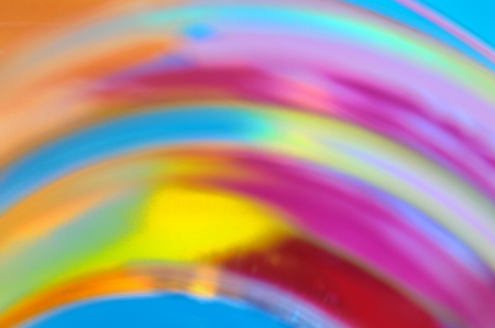 colorful abstract background, rainbow shape Stock Photo - 23812610