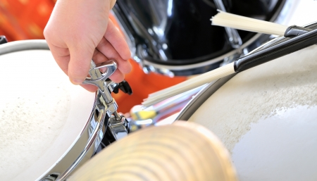 close-up according drums Stock Photo - 25056757