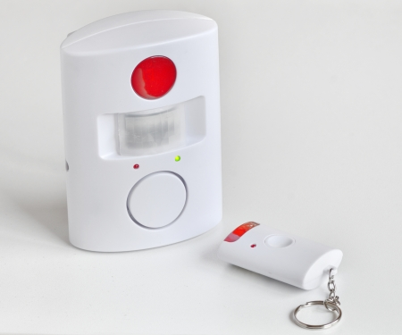 controlled: home alarm system and remote controlled