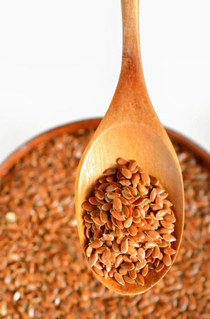 details of sesame seeds Stock Photo