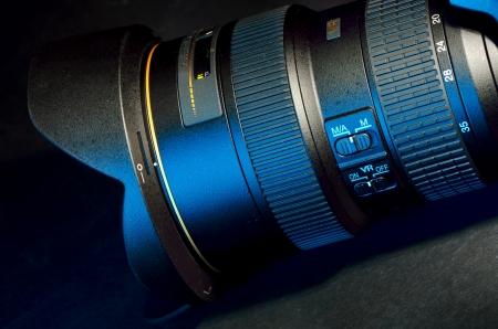 dslr professional lens shoot in studio