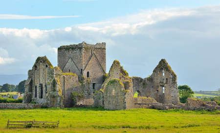 irish landscape: Irish ruins in Cashell, Ireland