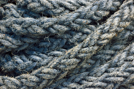corded: Ship rope in detail