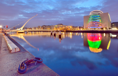 samuel: Samuel Beckett Bridge in Dublin
