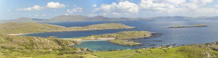 Ireland panorama summer time