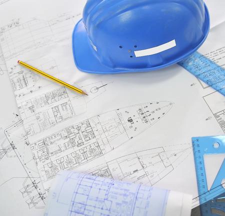 dibujo tecnico: Papel técnico proyectos navales y casco
