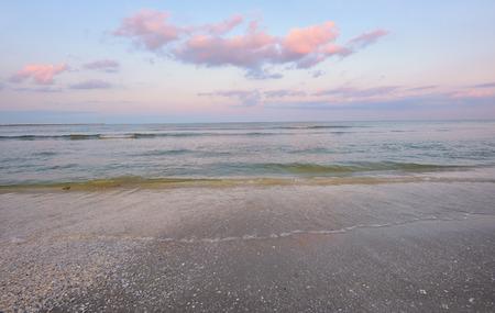 sunrise morning and sea summer at black sea