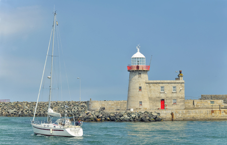 Bailey Lighthouse, Howth, in Dublin Ireland