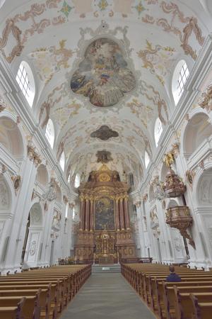 The Lucerne Jesuit  Catholic church in Lucerne, Switzerland - 24 July 2017 Sajtókép