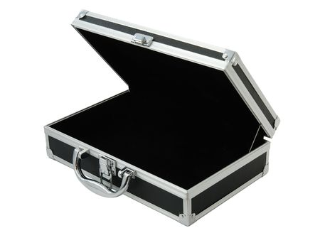 business case: moderne businesscase geïsoleerd op wit 2
