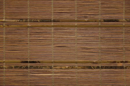 homogeneity: Bamboo stick straw mat texture to background
