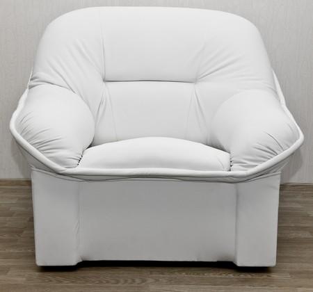white modern sofa isolated on white background Stock Photo - 7845297