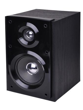 Image of speaker isolated over white background Stock Photo - 9067662