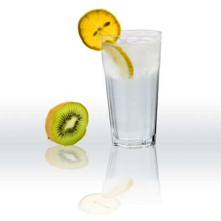 Gin with tonic cocktail photo