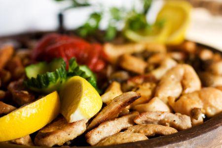 plato del buen comer: Comida de gourmet