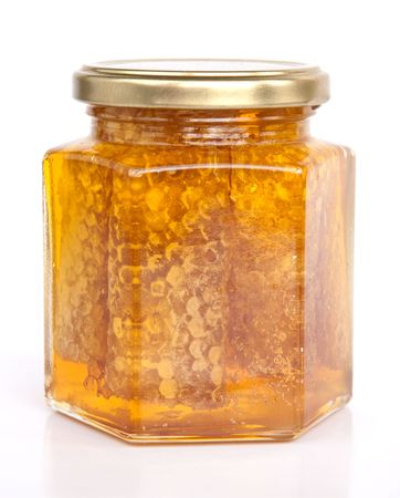 Honey jar photo