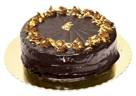kiss biscuits: Chocolate cake