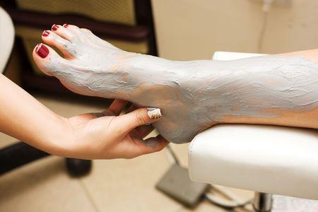 clays: Full Body Wrap Detail Stock Photo