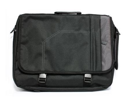 Laptop bag isolated on white background photo