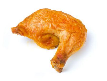pollos asados: Pierna de pollo  Foto de archivo
