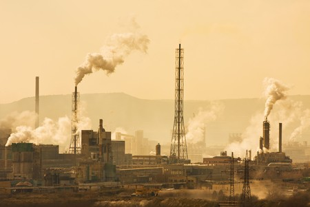 Urban pollution photo