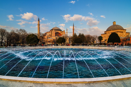 sofia: Church Hagia Sofia in Istanbul Turkey, one of biggest in the world   Editorial