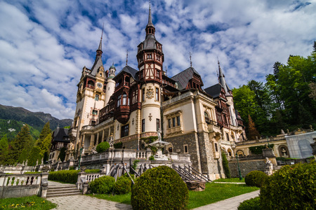 transylvania: Peles Castle Sinaia, Romania